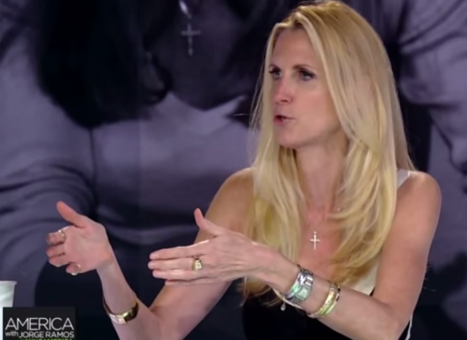 RT @thei100: Ann Coulter refused to hug an undocumented immigrant. Yes really http://t.co/wyUvNalfOB http://t.co/haOjntiBJe