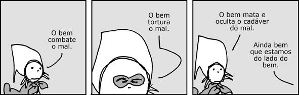 """André Dahmer on Twitter: """"O bem combate o mal. Via http://t.co/trX4pFE5U9  http://t.co/IaeOIhyaoL"""""""