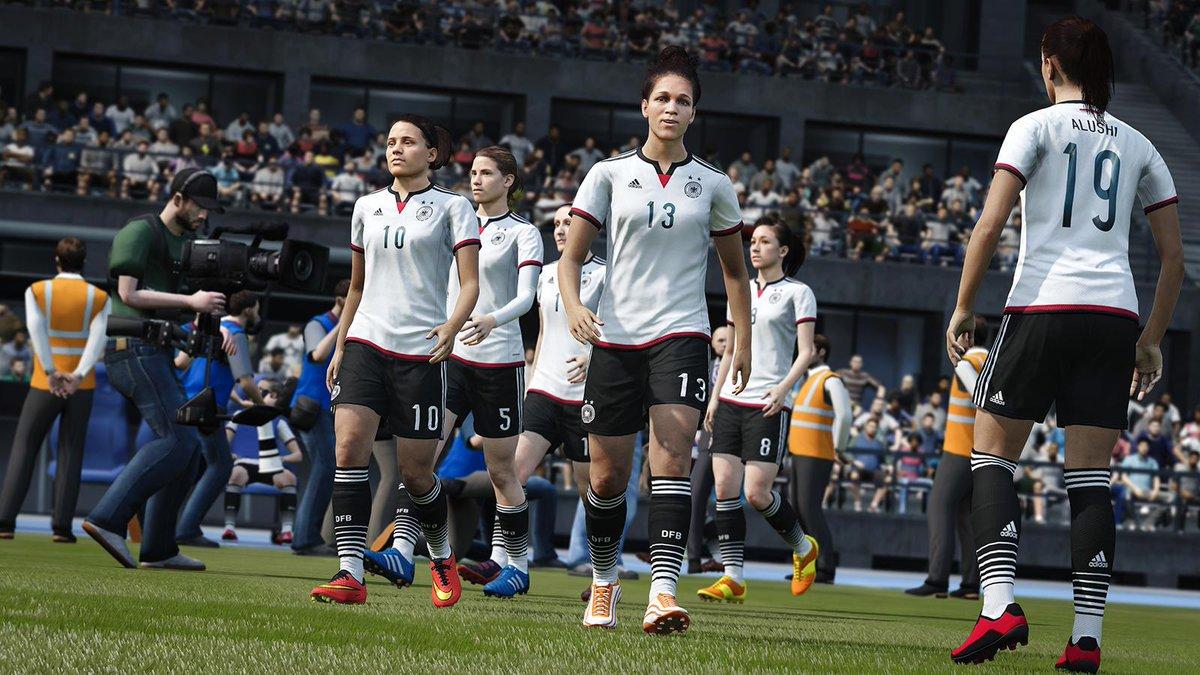FIFA 16 women's team