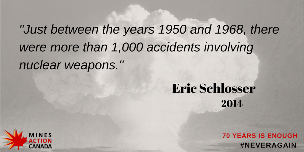 60 days until #Hiroshima70. The risks of a nuclear detonation are too great. Time to fill the legal gap. http://t.co/UMn41ghLPe