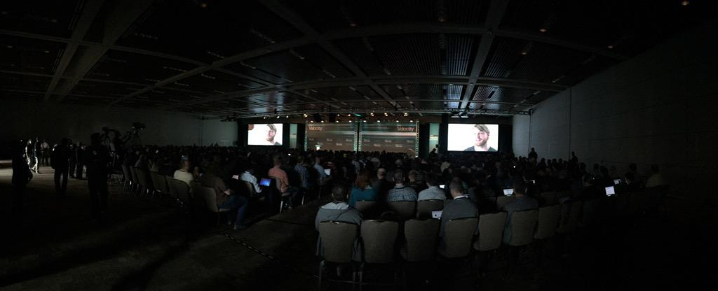 Uh, wow, this is a big ballroom. #velocityconf http://t.co/6iVkB4myks