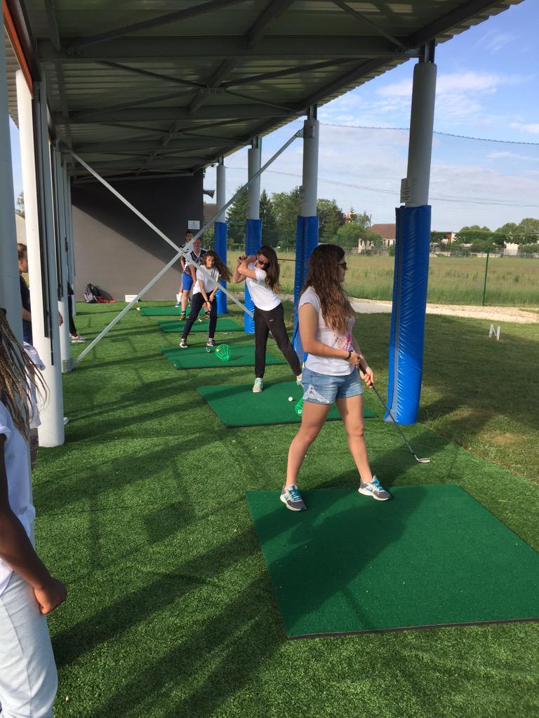 """AS LTC on Twitter: """"L'AS LTC s'essaie au Golf ! A quand des France ..."""