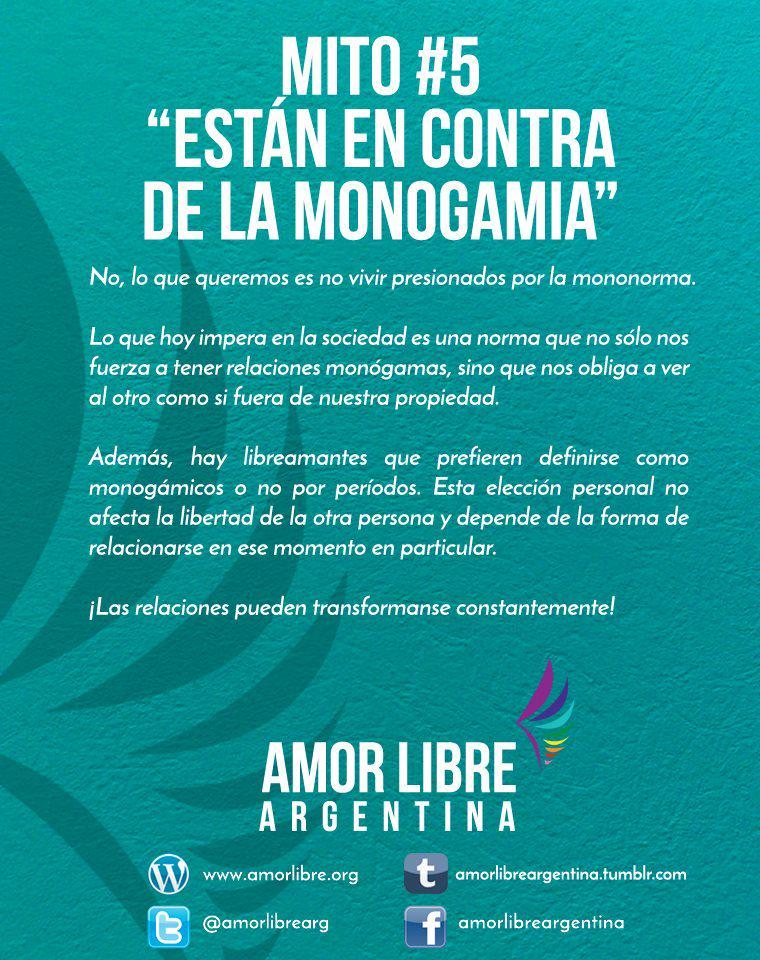 Amor Libre Argentina On Twitter Mitos V Frases Y