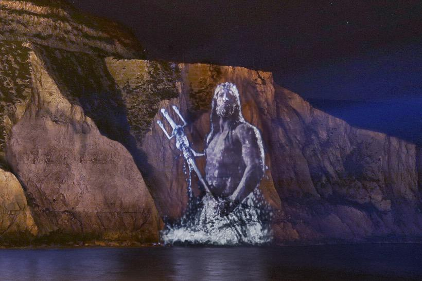 Neptune ascends White Cliffs of Dover for @NationalTrust #campaign http://t.co/KHtzCDTk2a via @benbold @MarketingUK http://t.co/MDrxHyC7JT