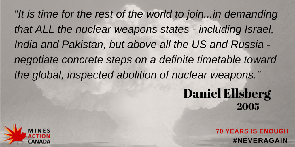 61 days to the 70th anniversary of the use of nuclear weapons on Hiroshima & Nagasaki. 70 years is enough. http://t.co/WpANkOB42L