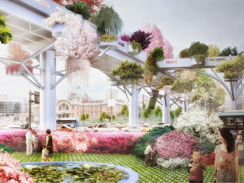 Seoul Skygarden - take a closer look here: http://t.co/gXgYpwsyn8 #architecture http://t.co/YGZBgLiXQb