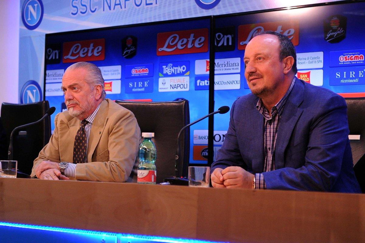 Calcio: Benitez e il ds Bigon lasciano il Napoli