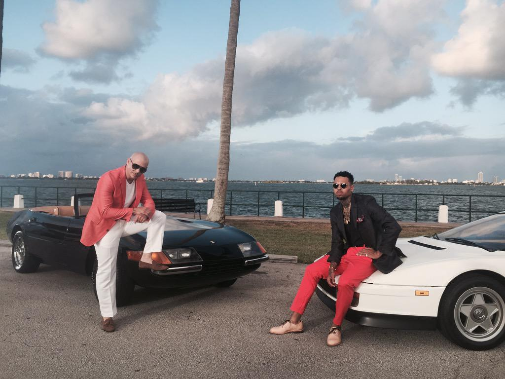 The new Miami Vice, who's ready for FUN? @chrisbrown #Mr305 #MrWorldwide #PitBerry305 http://t.co/gOKnn4dun2