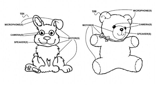 Google patents 'creepy' web-connected teddies to run homes- http://t.co/IO3NScdNGY http://t.co/eTWP0hs0TP