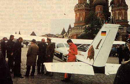 #OnThisDay in 1987 amateur pilot Mathias Rust lands aircraft in Moscow's Red Square, embarrasses USSR. #coldwarhist http://t.co/NTZalKmdKo
