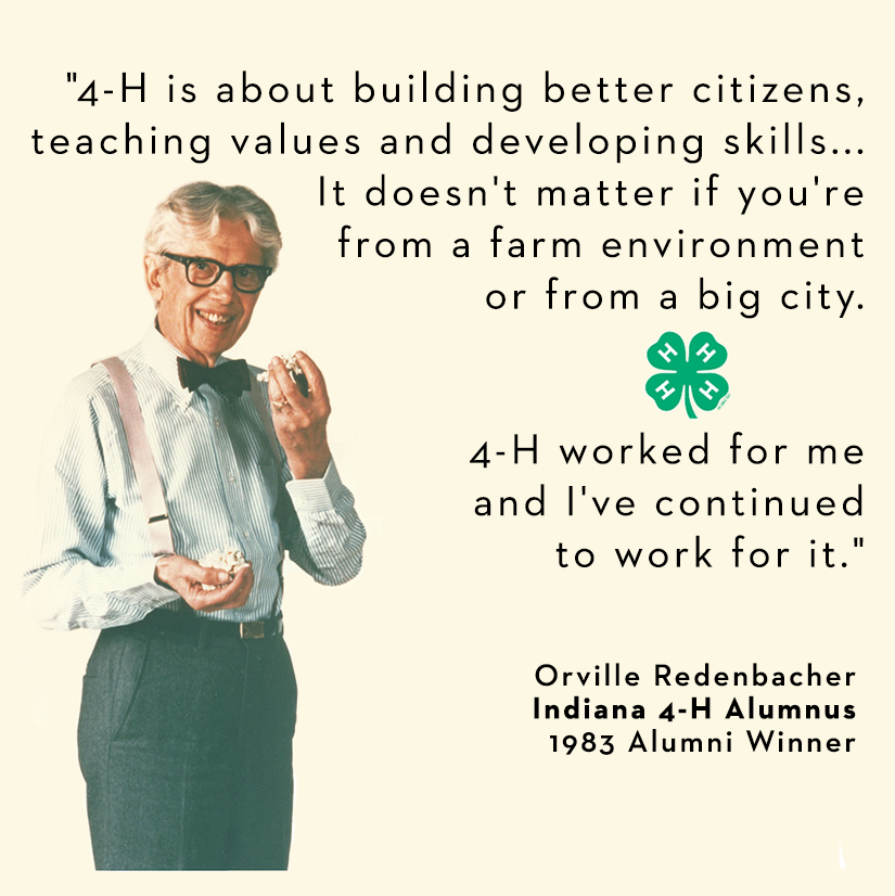 60H On Twitter TBT Orville Redenbacher Indiana60h Alumnus Http Awesome 4 H Quotes