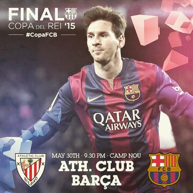 Athletic vs Barcelona - Copa del Rey Final