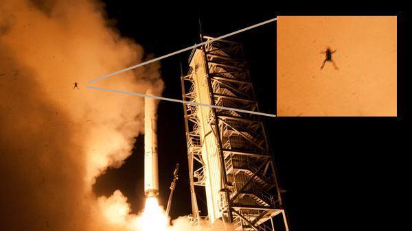 NASA: La foto della Rana durante il lancio del LADEE è reale
