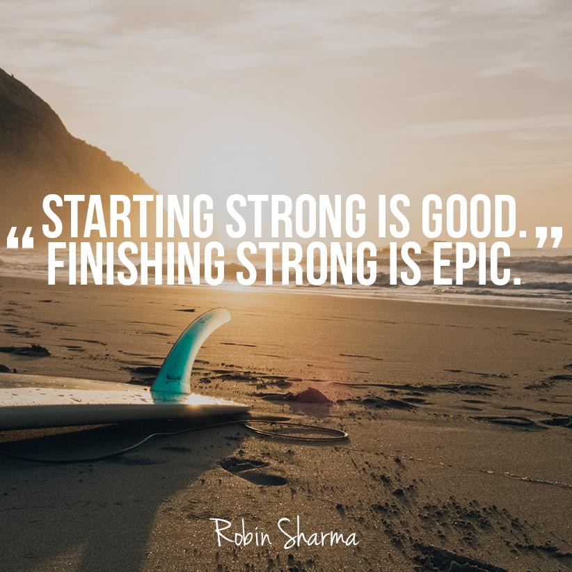 how to get on starting strong