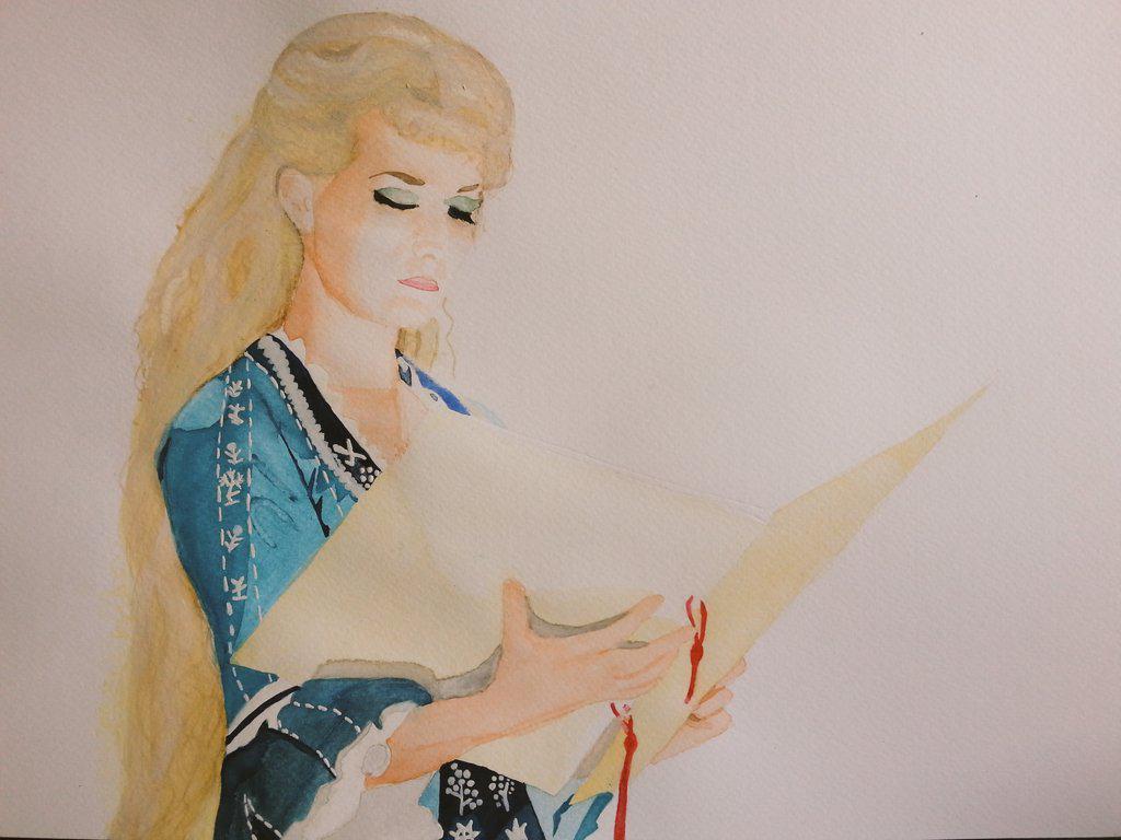 @PhantomOpera @Layla_Harrison and my Emmi painting is finished! I think... ;-) http://t.co/XhrZZeqmbX