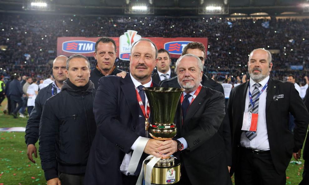 Rafa Benitez: Addio Napoli, prossimo destino Real Madrid
