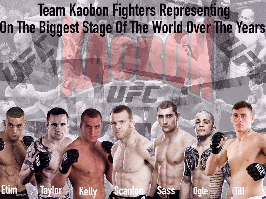 Kaobon fighters that have represented with pride on the worlds biggest stage @ufc @UFC_UK ...To Be Continued... http://t.co/THIBJmZ2R2