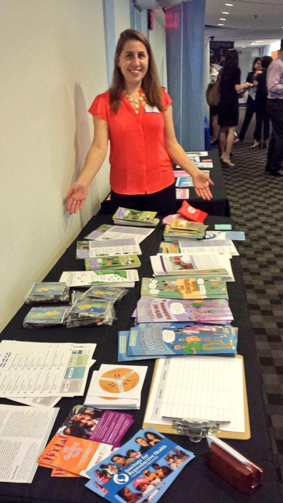 My wife, Jennifer Gayles, representing @IRH_GU at #MHDayDC http://t.co/DBvofRq5ae