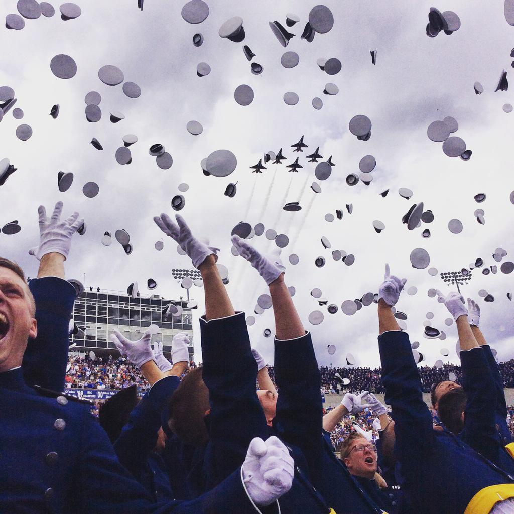 Congratulations to the Class of 2015! #Graduation2015 #USAFA #USAFA http://t.co/BXMN5oio5Q