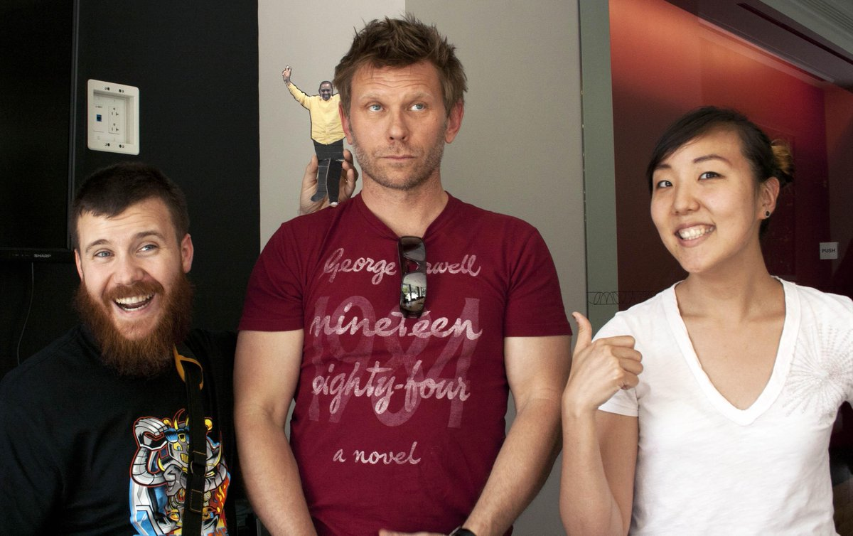 Here's our talk on D.C. nerd culture with @AwesomestBen, @MarkRPellegrino and @FantomComics: http://t.co/qTjea0EJqx http://t.co/n8NGepMjp5