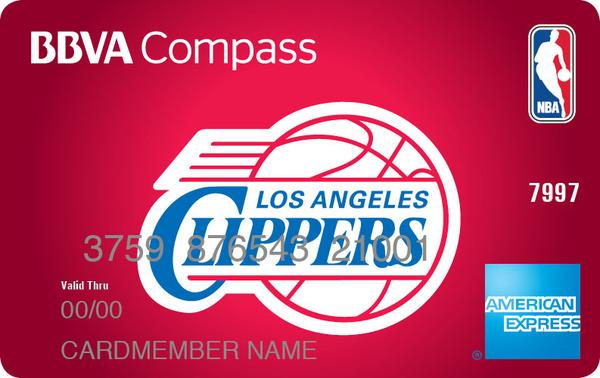 la clippers on twitter get your own bbva compass nba amex