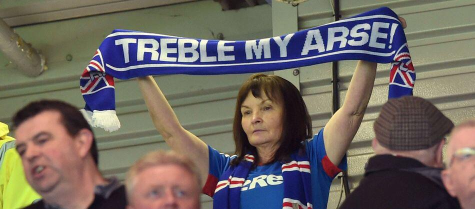Image result for treble my arse
