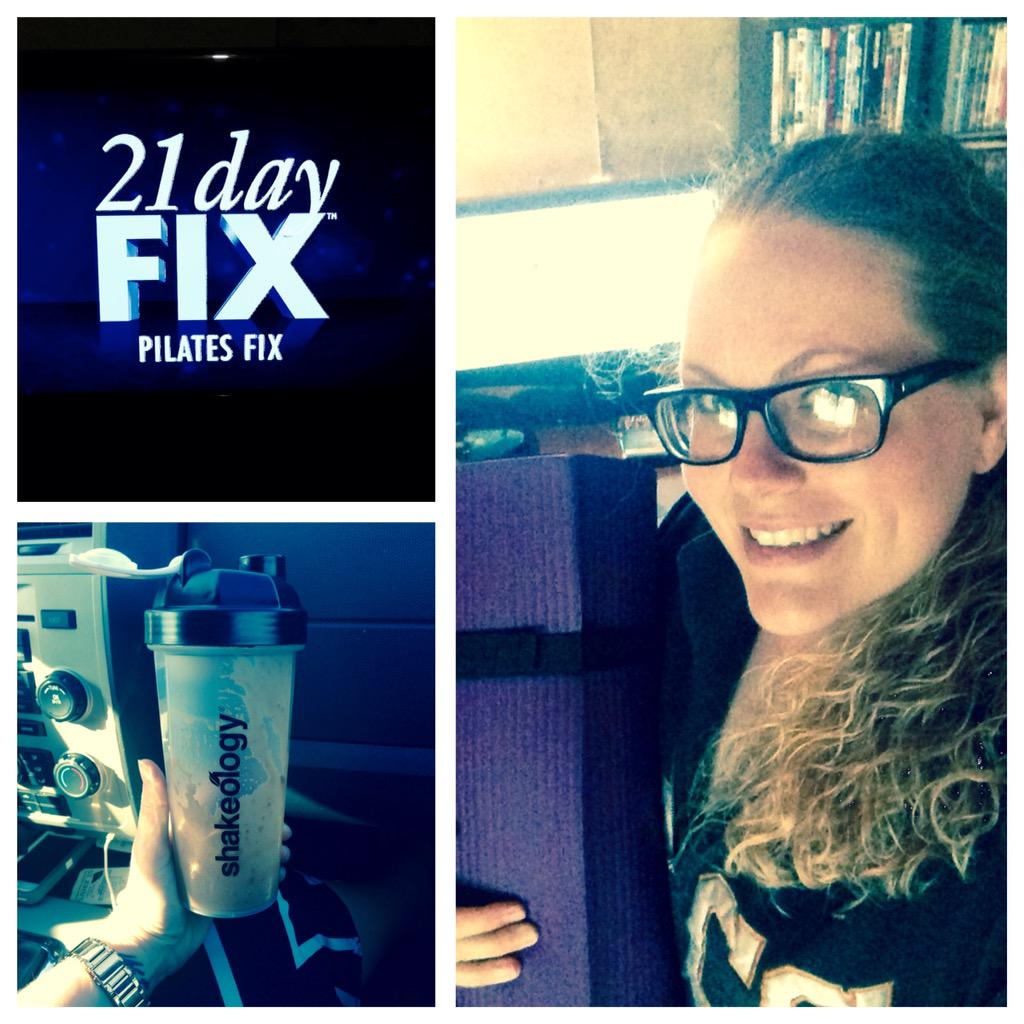 @21DayFix Thursday = #pilates :) #fitness #exercise #workout #healthylifestyle http://t.co/6N9Zq8TPDL