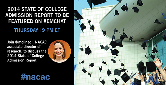Thumbnail for #EMchat: NACAC State of College Admission Report