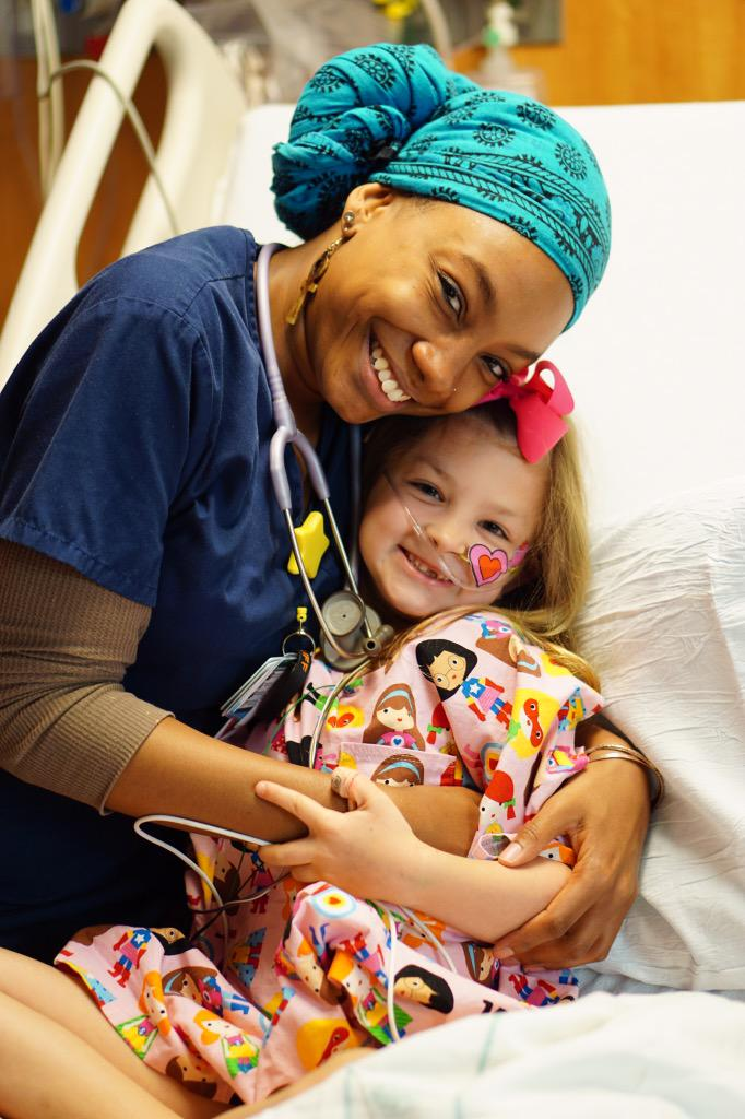 Amber Greenawalt On Twitter Forever Grateful For The Nurses Who Take Such Good Care Of Savannah And Can Make Her Smile