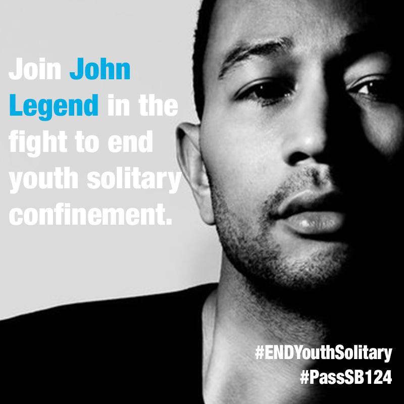 RT @cdfca: John's in. Are you? http://t.co/JuARDtTGpz#ENDYouthSolitary  #PassSB124 @johnlegend http://t.co/IKVZ7pOgVi
