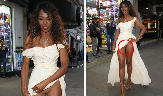 Sinitta At It Again Sinitta Unwittingly Flashes Her
