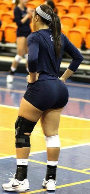 Thick female volleyball players especial