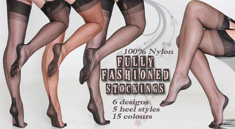 Fully Fashioned Stockings - What Katie Did 75