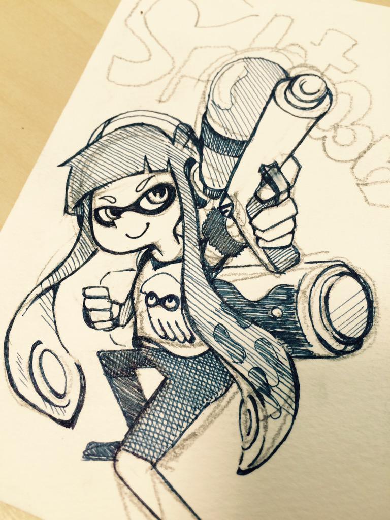 週末ゲームできるかな。ちまちま描いたよ。 http://t.co/FDNXqbNXIS