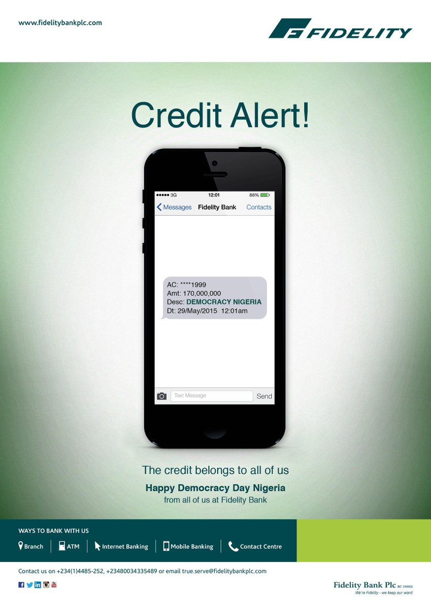 fake bank alert