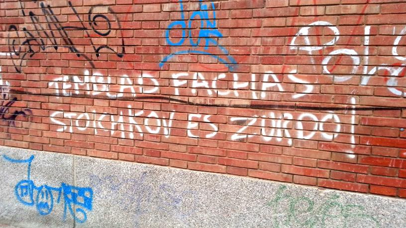 Pintadas, grafittis y otras mierdas del arte hurvano ese. - Página 2 CGLafIyWYAAwQ2C