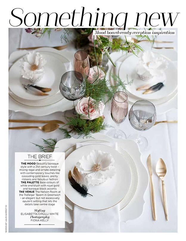 Yay...check out the latest issue of @youyourwedding a modern, baroque styled shoot I worked on is featured...excited! http://t.co/ufMRNnsWar
