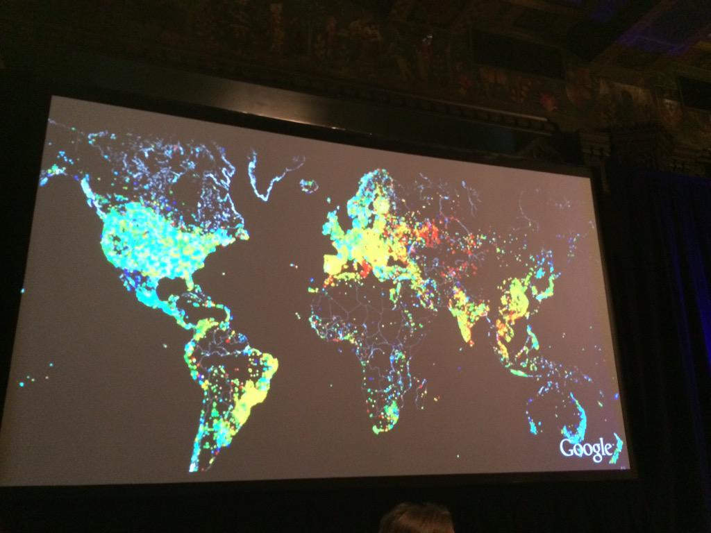 From @google Stefani Klaskow world wide Internet penetration #patientspartners http://t.co/HaKsK54Yu0