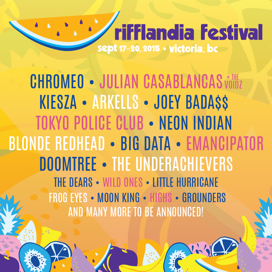 First 19 artists announced – over 100 more to come! See you at #Riff2015, September 17-20! http://t.co/Gki2CQOtRn