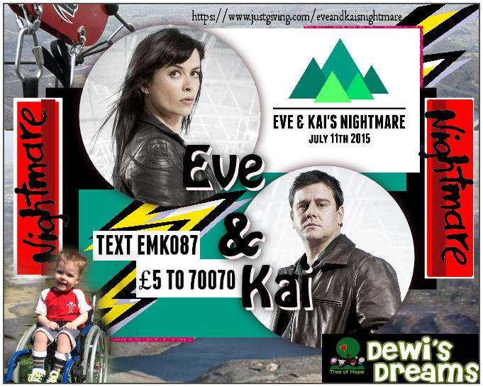 donate to @KaiKaiOwen & @TeamEveMyles #Dewi here http://t.co/AITyypG2qX  #EveAndKaisNightmare or text EMKO87 £5 70070 http://t.co/OxuDJ1upY0