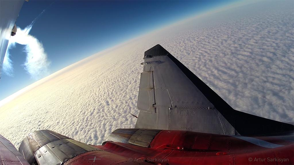 This Is What It's Like to Fly to the Edge of Space in a MiG-29 Fulcrum! Video: http://t.co/OI9JSkfr2J http://t.co/I0CRojr17p