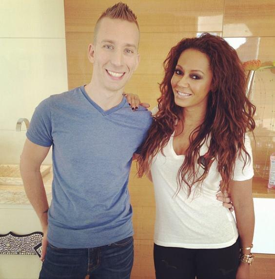 #FlashbackFriday photo with my girl @OfficialMelB in #Vegas! #HappyBirthdayMelB have a great day! http://t.co/AWtNGhr9Og