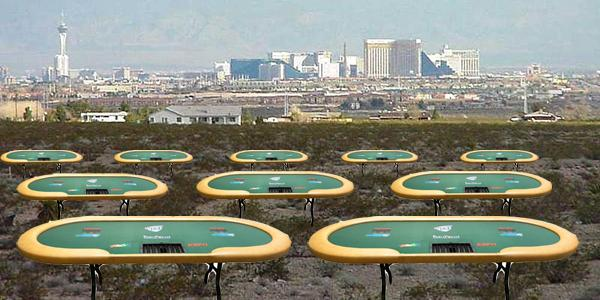 We're beginning to get the feeling the WSOP is running out of places to seat people in The Colossus ... #jokes #wsop http://t.co/VSXkGfbMaL