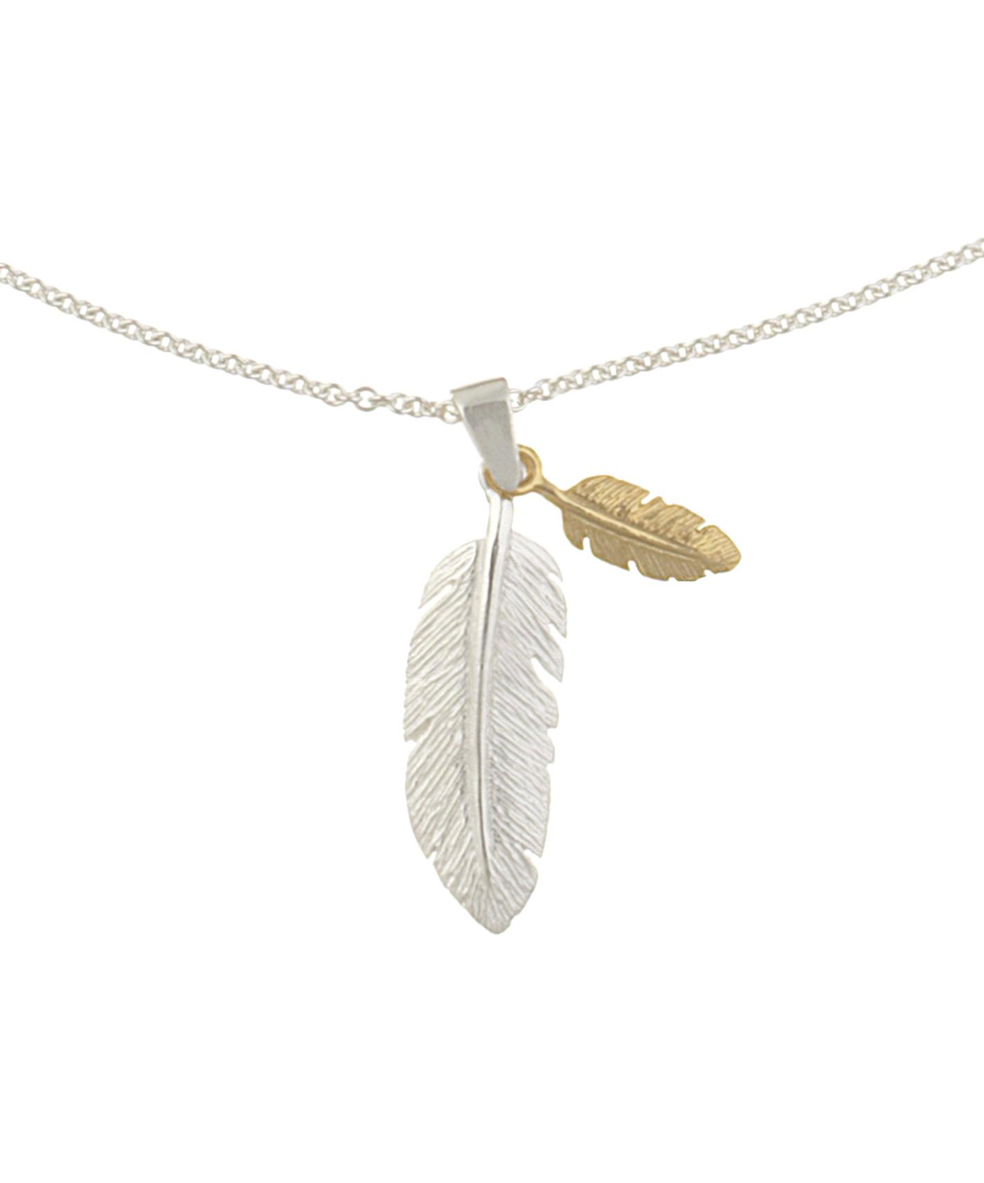 RT @ISWAI_London: Fly higher with our Silver & Gold Double Feather necklace - designed and handmade in #London.  http://t.co/8kCM1nHvat htt…