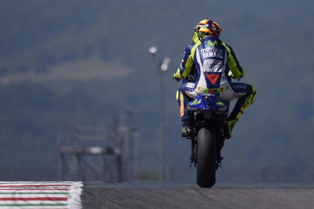 FOTO Valentino Rossi Circuito del Mugello Italia @TINOFoto