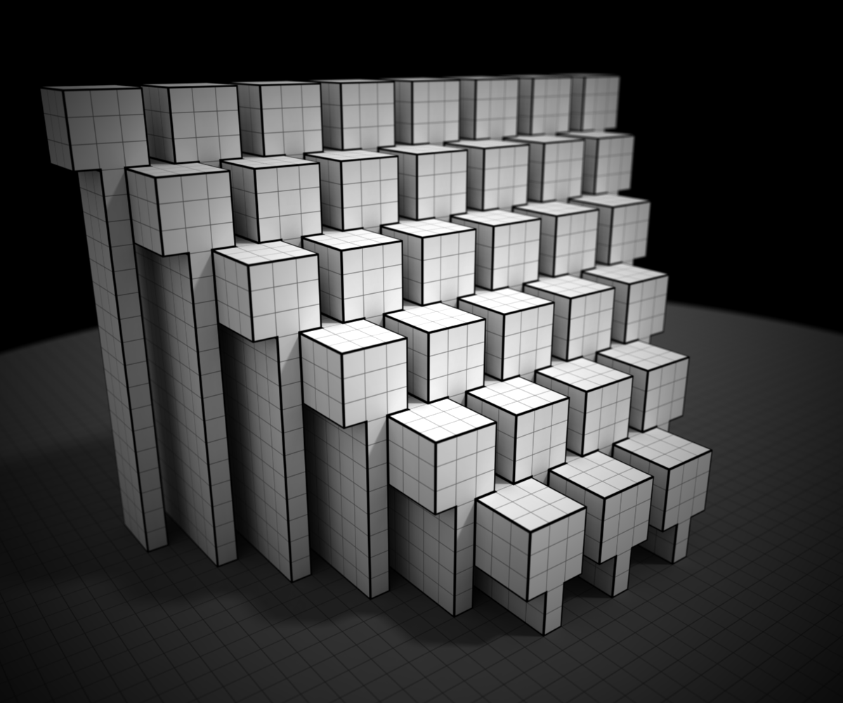 Ephtracy on twitter a little experiment 1 input voxel model 2 ephtracy on twitter a little experiment 1 input voxel model 2 output pop up paper blueprint 3 realityok im not good at this malvernweather Images