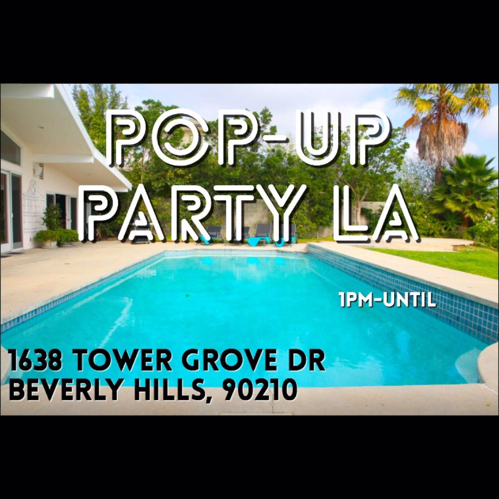 Tomorrow is perfect for a pool party.#popuppartyla http://t.co/8GU1BF2WW7