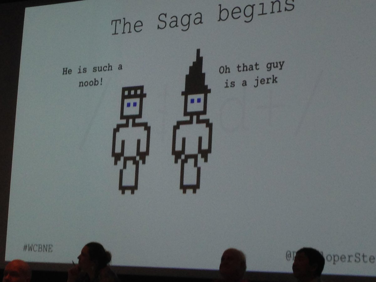 Once Upon an API with @DeveloperSteve #wcbne http://t.co/IXoSfVjZQh