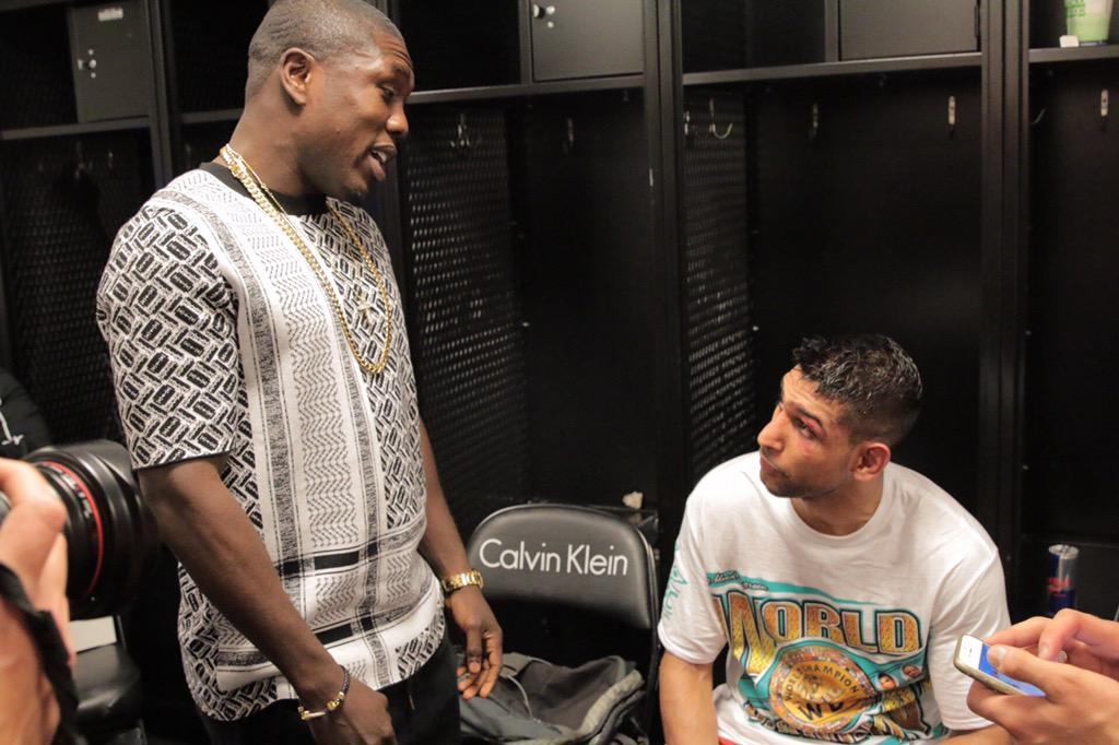 RT @AndreBerto: Congrats to my dude @AmirKingKhan... I see him work his ass of everyday. Deserves everything he gets. #PBConSpike http://t.…