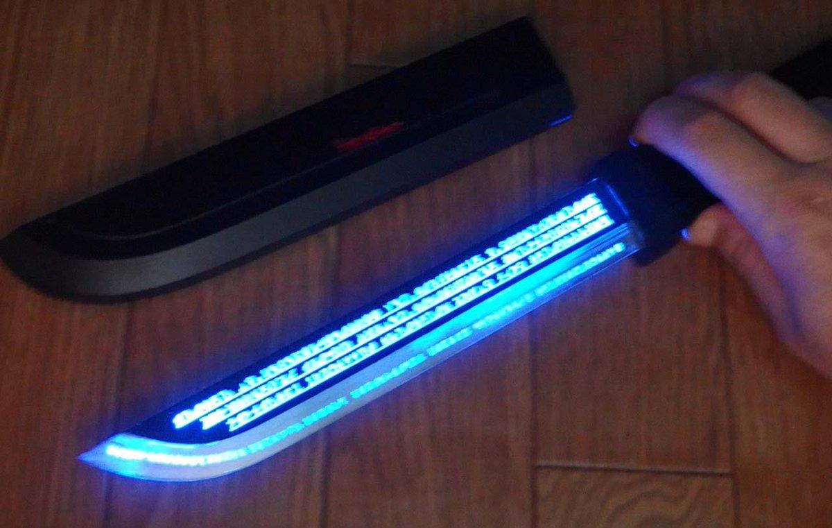 ヘスティアナイフを光らせてみた #danmachi pic.twitter.com/2UIIAp81nW
